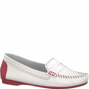 Marco Tozzi 2-2-24225-20 155 WHITE/CHILI Womens Shoes
